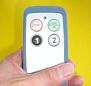 ポケットサイズの産業用無線操縦リモコン2回線用