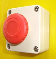 防水型の緊急非常押しボタン