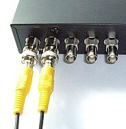 4チャンネル用デジタルビデオレコーダー(DVR-5004)