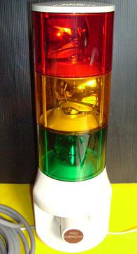 φ140大型積層式電球回転灯