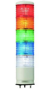φ60積層式LED表示灯5段積みタイプ