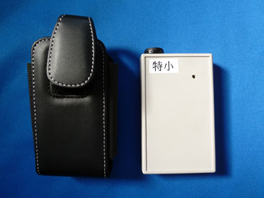 携帯式ジャイロセンサー発信器