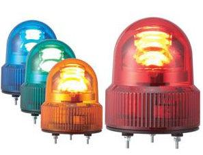 パトライト製回転灯、パトランプと無線呼び出しシステムの組み合わせ