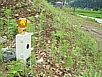 充電バッテリ式落石土砂崩れ地滑り警報装置