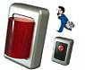 体調が悪くなったときにお手元の緊急ボタンを押すと警報ブザーが作動します-無線式異常点滅ボタンシステム