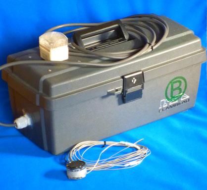 充電バッテリ式警報機本体