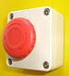 ソーラー式遠隔回転灯警告システム