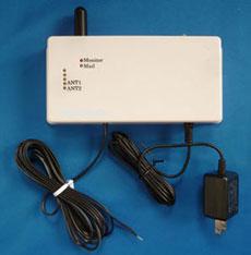 リレー接点信号作動ショートメール自動通報装置