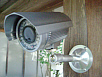 ズームレンズ付き中型赤外線監視カメラ(赤外線照射器内蔵)