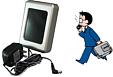 接点信号(無電圧接点)による無線式警報システム-微弱無線方式