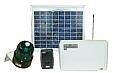 太陽電池式遠隔パトライト警報システム