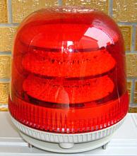 ソーラー電源式大型回転灯駆動システム