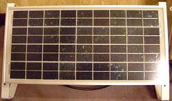 電源供給用太ソーラーパネル
