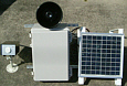 太陽電池使用!電源の要らない屋外用アナウンス警告システム